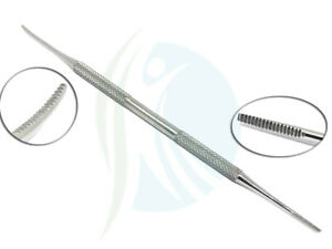 Blacks File Double End Nail File Podiatry Chiropody Instruments Stainless Steel