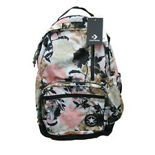 Converse Chuck Taylor GO Backpack Barely Rose Pink Floral School Bag NEW