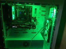 Gaming PC Intel i7, 16gb RAM Corsair, MSI970, raffreddato ad acqua molto di più.