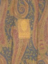 GUCCI Vintage RICH PAISLEY Brown Red 100% SILK Necktie TIE *MINT* ITALY