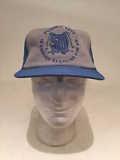 Vintage Funny 50 Years Old Hat. Pushing 50 Is Enough Exercise For Me SnapBack