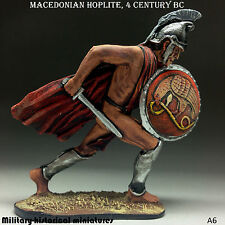 Macedonian hoplite, Tin toy soldier 54mm, figurine, metal sculpture Hand Painted