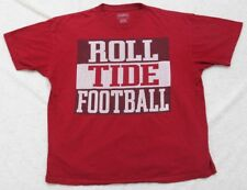 Roll Tide Football Red Alabama T-Shirt Short Sleeve Cotton Large Champs Sports