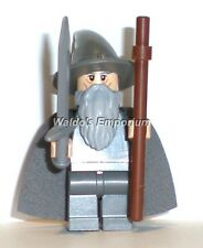 Lego Lord of the Rings Minifigure, GANDALF THE GREY w/ Sword & Staff 79010, New