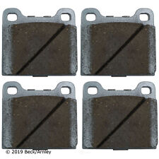 Disc Brake Pad Set Rear,Front Beck/Arnley 085-0407