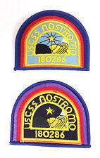 ALIEN Movie- USCSS Nostromo Patch Set of 2-FREE S&H (ALPA-Set-2-ND)