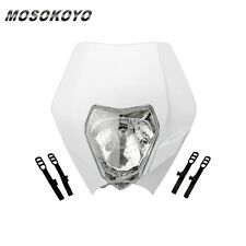12V Motorcycle Headlight Head Lamp Light Faring For All Dual Sport Motorcycles