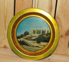 Vintage litho tin dish