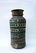 RARE! Monumental Mid Century Modern BAY KERAMIK W. Germany Pottery Floor Vase