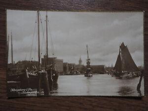 AK Königsberg i. Preußen Hafen Ansicht