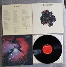 KING CRIMSON-ISLANDS-ORIGINAL UK ISSUE LP ON POLYDOR/EG RECORDS-1971-EX.CON