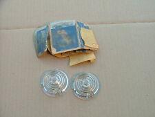 1942 Buick parking light lenses, pair, NOS! lens