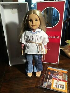 Retired American Girl JULIE Albright Doll with Book and Box 2008