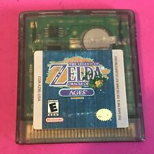 Legend of Zelda Oracle of Ages Nintendo Game Boy Cartridge Only In Plastic Case