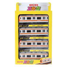 Tokids Diecast Orange KR Metro Train Toy Children's toy Miniature Car