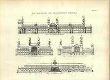 1893 Electricity And Transportation Buildings Drawings