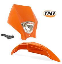 Garde boue phare Tete de fourche Super-motard Orange Enduro Moto YAMAHA KTM NEUF