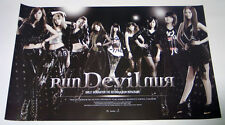 SNSD GIRLS' GENERATION - Run Devil Run (Vol.2 Repackage) OFFICIAL POSTER