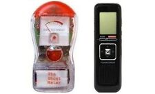 Ghost Hunting Meter EMF Detector LED Light Audio + 8GB Digital EVP Recorder 2KIT