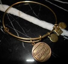 Alex And Ani Completely Blessed Religious Charm Copper Gold Bracelet