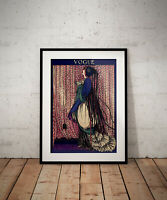 gift wallart prints gifts art poster posters Vogue vintage print