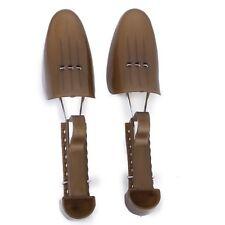 Embauchoirs a Chaussures Arbres de Chaussure en Plastique Reglable Brun WT
