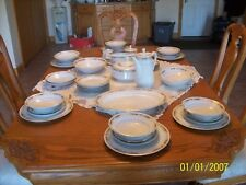 Queen Anne Signature Collection Vtg Porcelain China Grouping 43 Piece Grouping