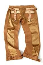 Roberto Cavalli Capri Pants Trousers Python Snakeskin Leather Medium RRP £945