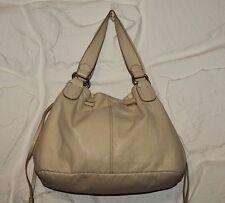 Ivory Look Leather H &M Drawstring Slouch Hand Bag Shoulder Bag Tote Shopper Bag