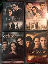 The Twilight Saga 4 DVD Set: Twilight, New Moon, Eclipse, Breaking Dawn Part I