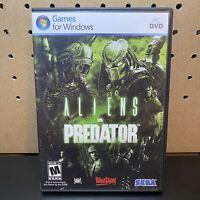 ALIENS VS. PREDATOR (PC, 2010) Tested