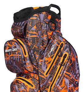 RADAR C140 Smart dry 100% Waterproof Golf Cart Bag Ultralightweight - orange