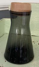 Teroforma Charcoal Glass Carafe