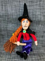 Witch From Room On The Broom Soft Toy Doll Julia Donaldson 14""