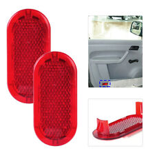 2x Red Door Panel Warning Light Reflector 6Q0947419 Fit for VW Beetle Caddy Polo