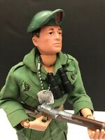 "GI Joe 12"" GREEN BERET BROWN HAIR Action Figure 1964 Vintage MINT CONDITION #2"