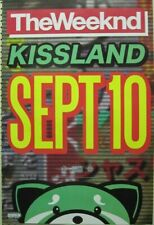 The Weeknd 2013 Kissland Huge 2 Sided Promotional Poster Excellent New Old Stock