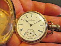 Pocket Watch. Illinois Springfield 6s  Movement # 1117661 7 Jewels.  Sku J232-3