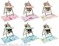 First 1st Birthday 4 Piece Highchair Kit - Pink or Blue Baby Girl or Boy