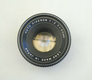 Ricoh prime lens 50mm f/2 mount M42 full frame
