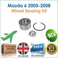 For Mazda 6 2.0 2.3 MPS Turbo 2005-2008 Front Wheel Bearing Kit 3 Piece New