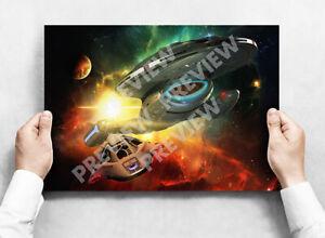 Star Trek Voyager - A3 Poster Print