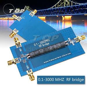 RF SWR Reflexion Bridge 0.1-3000 MHZ Antenna Analyzer VHF UHF VSWR Return Loss