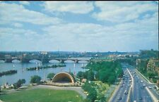 Cambridge, Mass., Charles River Basin, Bandstand (1958)