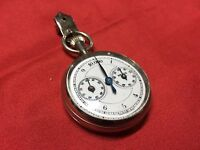 WW2 PEDOMETER USED BY GERMAN OFFICER IN MARCHING SWISS MADE DEPOSE PARIS WORKING