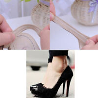 4pcs Chic shoe back heel inserts silicone gel pads cushion liner grips NTHN