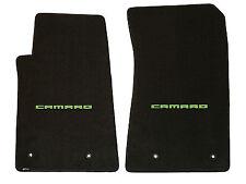 green car floor mats. LLOYD Classic Loop™ Ebony FRONT FLOOR MATS Green CAMARO Letters 2010-2015  Camaro Green Car Floor Mats O