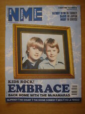 NME 2000 MAR 11 EMBRACE FATBOY SLIM OASIS MOBY NO DOUBT