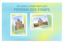 Australia-World Stamp Expo 2013 special min sheet only available in yearbook mnh