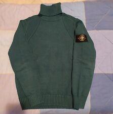 Maglione Stone Island Sweater Roll Neck Collo Alto Casual Winter